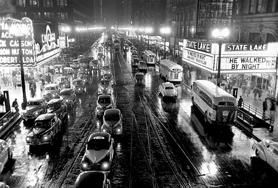 Chicago's Theater District, Stanley Kubrick 1949