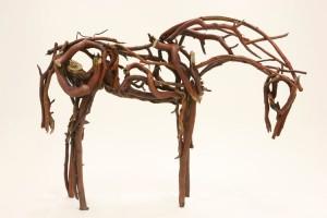 "Deborah Butterfield's ""Red Branch 2007"""