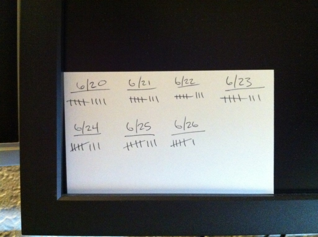 The Tally System for Time Tracking